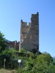 Ruines du château d'Arquizat -  Château de Miglos (France,09)