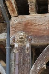 Maison du 15e siècle dite maison des Consuls - Deutsch: Maison des Consuls in Mirepoix (Ariège) (6, Place du Maréchal-Leclerc) im Département Ariège in der Region Midi-Pyrénées (Frankreich)