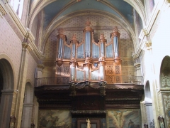 Cathédrale Saint-Antonin -  Orgue de la cathédrale de Pamiers