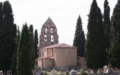 Eglise -  Sabarat-eglise arrière