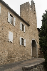 Murailles gallo-romaines -  The clock tower marks the entry into the upper town
