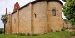 Eglise Sainte-Suzanne - Français:   Église romane de Sainte-Suzanne (Ariège)