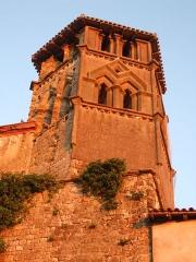 Eglise - Français:   Clocher de l\'église de Saint-Ybars