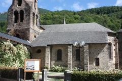 Eglise Notre-Dame - Français:   Sentein - Eglise Notre-Dame-de-l\'Assomption