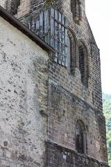 Eglise Notre-Dame - Français:   Église Notre-Dame de Sentein Clocher roman