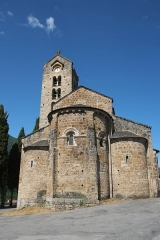 Eglise Saint-Martin - Deutsch: Kirche Saint-Martin in Unac im Département Ariège der Region Midi-Pyrénées (Frankreich)