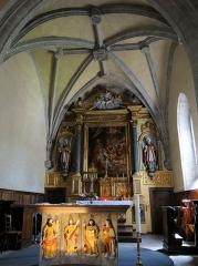 Eglise - Brommat - Église Saint-Anthime-et-Saint-Saturnin - Choeur