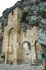 Eglise de Peyre - Español: Peyre, Iglesia troglodítica del siglo XI