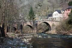 Pont sur le Dourdou, du 14s -  The