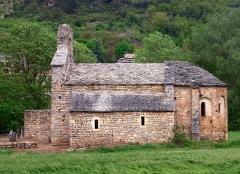 Ancienne église Saint-Martin -  La Cresse (Aveyron) - Chapelle Saint-Martin_du_Pinet (XIIe - XIIIe siècles)