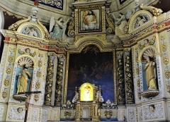Eglise Saint-Thomas-de-Cantorbéry - Mur-de-Barrez - Église Saint-Thomas-de-Cantorbéry - Retable