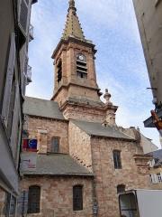 Eglise Saint-Amans - Rodez - Église Saint-Amans - Clocher