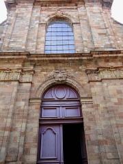 Eglise Saint-Amans - Rodez - Église Saint-Amans - Portail