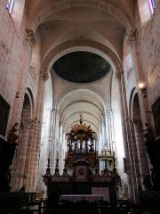 Eglise Saint-Amans - Rodez - Église Saint-Amans - La nef vue du choeur