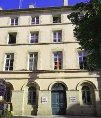 Préfecture - Rodez - Hôtel Le Normant d'Ayssènes devenu hôtel du département - Agrandissement construit en 1829