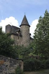 Château - English: Maison forte de Sainte-Eulalie-d'Olt