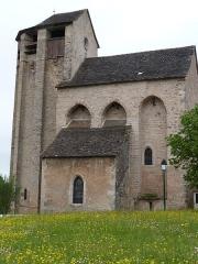 Eglise de Souyris - Français:   Façade sud de l\'église de Souyri
