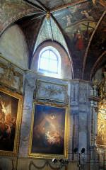 Chapelle des Pénitents Noirs - Français:   Villefranche-de-Rouergue - Chapelle des Pénitents-Noirs - Peintures côté Sud