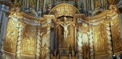 Chapelle des Pénitents Noirs - Français:   Villefranche-de-Rouergue - Chapelle des Pénitents-Noirs - Rétable