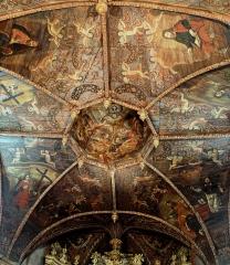 Chapelle des Pénitents Noirs - Français:   Villefranche-de-Rouergue - Chapelle des Pénitents-Noirs - Peintures de la voûte