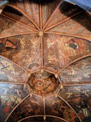 Chapelle des Pénitents Noirs - Français:   Villefranche-de-Rouergue - Chapelle des Pénitents-Noirs - Charpente peinte