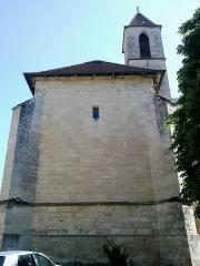 Ancienne chartreuse Saint-Sauveur -  Aveyron Villefranche De Rouergue Ancienne Chartreuse Saint-Sauveur Chapelle Cote Nord 29052012
