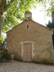 Château de Ginals - Français:   Chapelle du château de Ginals