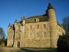Château - Français:   Façade sud