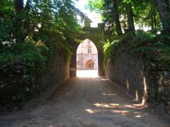 Château - Français:   Entrée principale actuelle