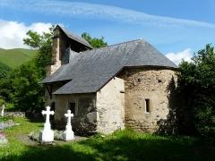 Eglise de Benque-Dessus - Français:   L\'église Saint-Blaise de Benque-Dessus vue depuis le sud-est, Haute-Garonne, France.