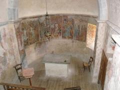 Eglise de Benque-Dessus - Français:   Le chœur de l\'église Saint-Blaise de Benque-Dessus, Haute-Garonne, France.