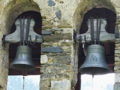 Eglise de Benque-Dessus - Français:   Les cloches de l\'église Saint-Blaise de Benque-Dessus, Haute-Garonne, France.