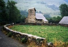 Eglise de Benque-Dessus - Français:   Église de Benqué-Dessus (Haute-Garonne, Midi-Pyrénées, France.