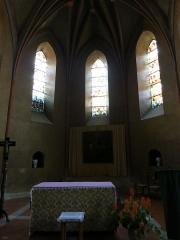 Eglise Sainte-Marie - Français:   Autel de l\'église de Boulogne-sur-Gesse
