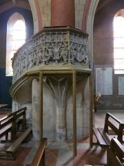 Eglise Sainte-Marie - Français:   Chaire de l\'église de Boulogne-sur-Gesse