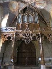 Eglise Sainte-Marie - Français:   Orgue de l\'église de Boulogne-sur-Gesse
