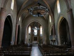 Eglise Sainte-Marie - Français:   Nef de l\'église de Boulogne-sur-Gesse