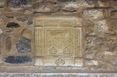 Eglise Sainte-Anne -  Funeral cippus.