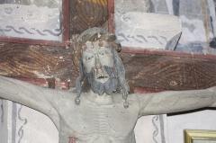 Eglise Sainte-Anne - English:  Christ for procession, detail.