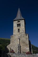 Eglise Sainte-Anne - English:  West facade of St. Anne's Church, Cazaux.