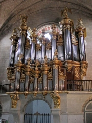 Eglise Notre-Dame - English: Organ of église Sainte-Marie (Cintegabelle)