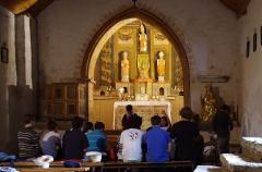 Chapelle Saint-Tritous - Polski: Kaplica Saint-Pé (św. Piotra) de la Moraine (lub kaplica Saint-Tritous), Garin, Haute-Garonne, Francja.