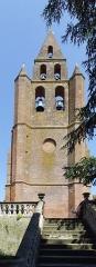 Eglise Saint-Martin - English: Nailloux (Haute-Garonne,France) - The tower of St-Martin church