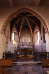 Eglise - English: Pechbonnieu