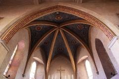 Eglise - English: 13th century church in Pechbonnieu