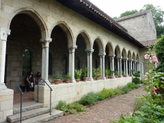 Ancienne abbaye de Bonnefont (également sur commune de Sepx) - English: Bonnefont Cloister, The Cloisters Museum, New York City