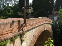 Pont de Lajous - Català: Rieux: Pont de Lajus.