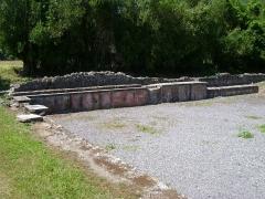 Ruines antiques - Lugdunum Convenarum: la piscine des thermes du nord