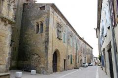 Eglise Saint-Félix - Français:   Presbytère de Saint-Félix-Lauragais, XVème siècle, inscrit aux monuments historiques