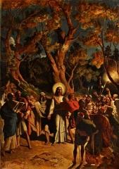 Eglise Saint-Félix - Français:   tableau de Gilbert de Séverac, en l\'église de Saint-Félix Lauragais.